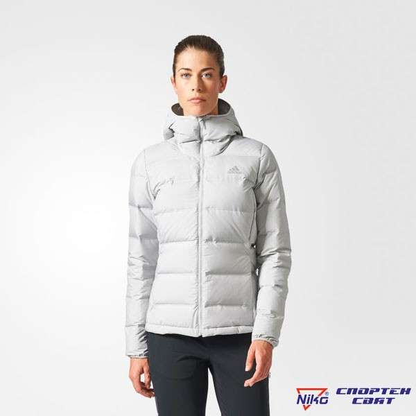 Adidas Helionic Down Hooded Jacket (BQ1938)