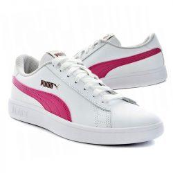 Puma Smash V2 L JR (365170 08) Юношески Маратонки