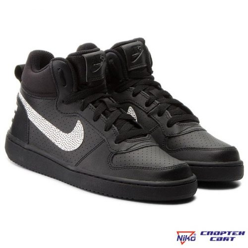 Nike Court Borough Mid GS (839977 006)