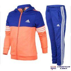 Adidas TRACKSUIT YG HOOD COT TS (CF0023)