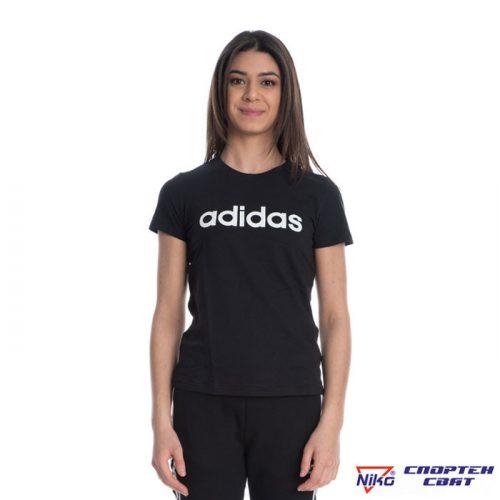 Adidas Essentials Linear Tee (DP2361) Дамска тениска