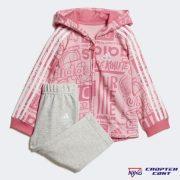 Adidas Graphic Fleece Jogger Set (DV1245)