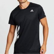 Adidas Run It 3-Stripes PB Tee (FR8382) Мъжка Тениска
