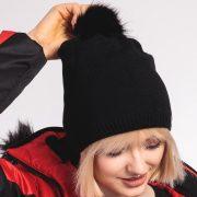 4F Дамска шапка (H4Z20-CAD008)